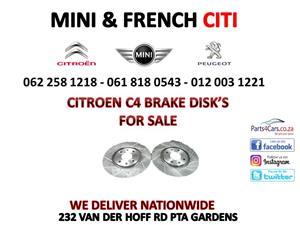 Citroen C4 Brake disk for sale 012 003 1221