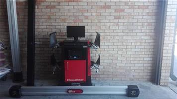 JHON BEAN 3D WHEEL ALIGNMENT MACHINE