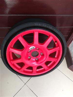 Porsche Cayenne 18 inch Collapsible Space Saver Spare wheel with Brand New Tyre R6500