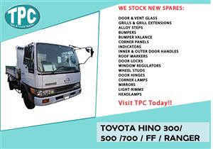 Toyota Hino 300 / 500 / 700 / FF / Ranger Spares For Sale.