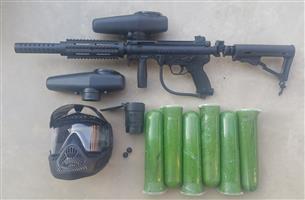 Paintball gun - Tippman A5 & Accessories