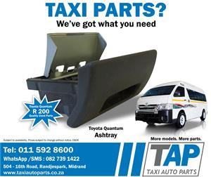 Toyota Quantum  ASHTRAY - quality used Taxi Spares -  Taxi Auto Parts - TAP