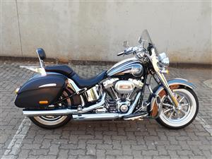 Price Has Been Reduced on this Stunning Softail CVO!