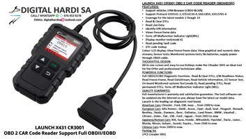 LAUNCH X431 CR3001 Code Reader DIAGNOSTIC TOOLS