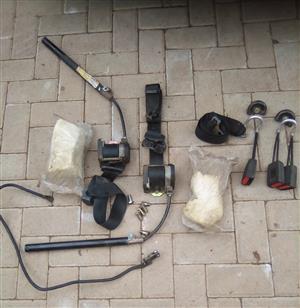Glof 3 Complete Safety belts set