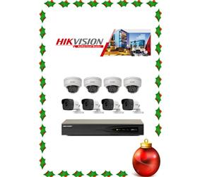 CCTV SYSTEM - HD 1MP 8 channel.