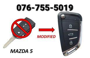 Mazda 5 Spare Key