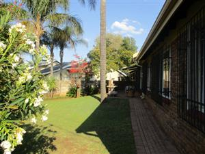 4 bedroom family home for sale in Garsfontein