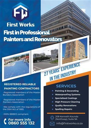 Painting and Renovations Contractor