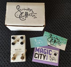 Swindler Effects Magic City Guitar Effects Delay Pedal - USA