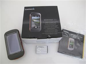 "Garmin Montana 650 Handheld GPS with large 4"" screen (UNUSED)"