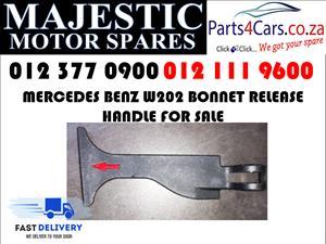 Mercedes benz W202 bonnet release handle for sale 1999