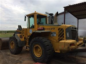 Volvo l120e  front end loader
