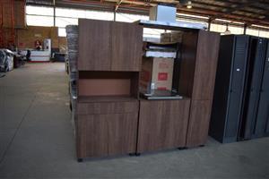 3 Piece wall unit cupboard set