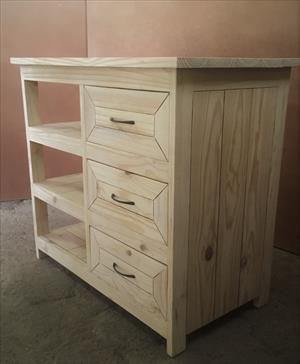 Compactum Cottage series 900 Change-over table - Raw