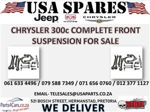 CHRYSLER 300c COMPLETE FRONT SUSPENSION FOR SALE