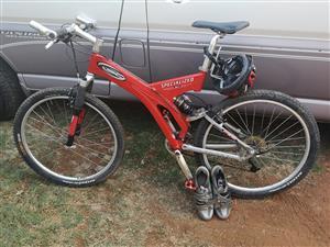 Specialized mountain bike 26 inch wheels