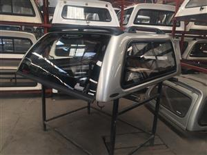6168 Toyota Hilux DC VVTI 2005 - 2015 Silver Carryboy Canopy