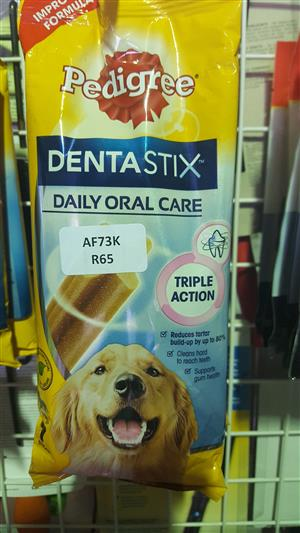 Pedigree DentaStix now available at PETS4LIFE BRACKENFELL