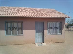 2BEDROOMS AT MABOPANE WINTERVELD