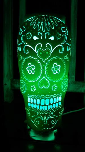HANDCRAFT  LED LAMPS IN 3D