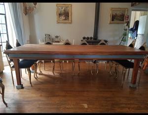 Stunning large oregon dining  table