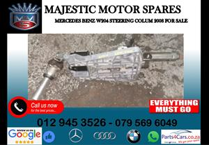 Mercedes benz W204 steering column for sale