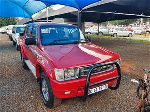 2002 Toyota Hilux double cab HILUX 3.0D 4D HERITAGE R/B A/T P/U D/C