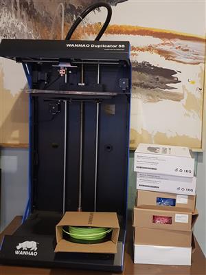 WANHAO Duplicator 5S Desktop 3D Printer