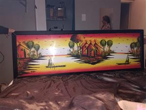 Big canvas painting make a offer