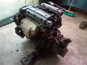 2 litre 16valve :J220 engine