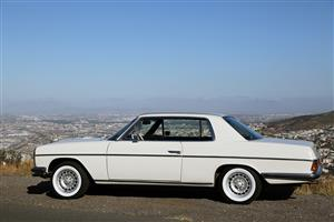 Mercedes-Benz 250 CE W114 Coupe 1975 Model - White - Left Hand Drive with electric Sunroof