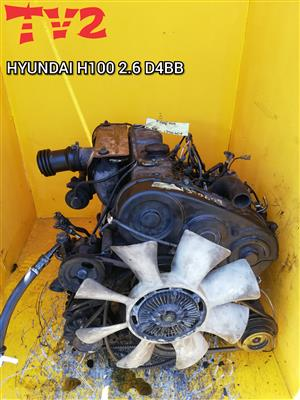 HYUNDAI- H100 2.6 D4BB ENGINE FOR SALE