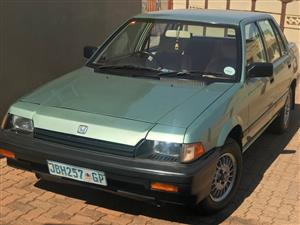 1988 Honda Ballade 150L Automatic