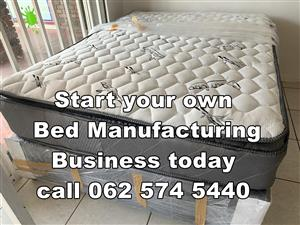 Production factory ( Bed Manufacturing business)