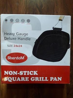 Nuwe Non stick Square Grill pan