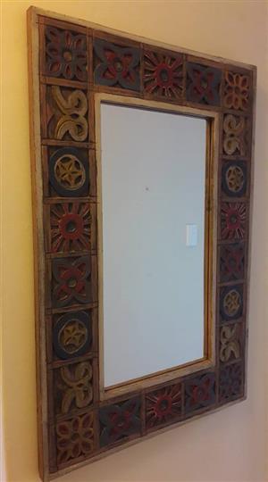 Framed mirror for sale