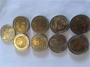 R5 coin collection