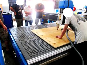 R-2040LC/75 EasyRoute 380V Lite 2050x4000mm Aluminium T-Slot Clamping CNC Router, 7.5kW