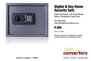 Digital & Key Home Security Safe