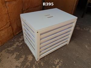 White Kiddies Storage Box (535x370x420)