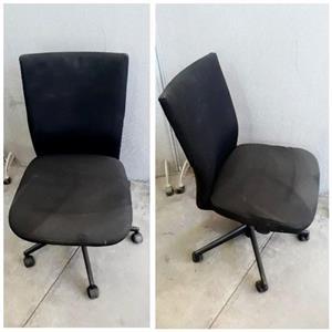 Black Office Chair - Torn