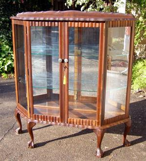 Beautiful Large Embuia Display Cabinet