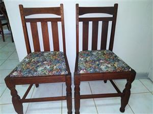 antique Teak chairs