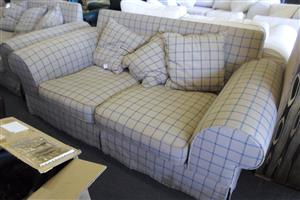 2 Seater Material Couches