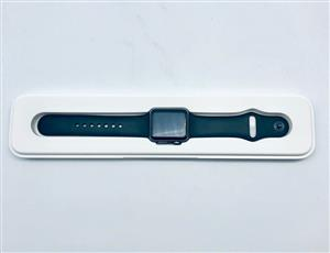 Apple Watch 38mm Space Gray Aluminum Case with Black Sport Band - Series 1 - Pre Owned
