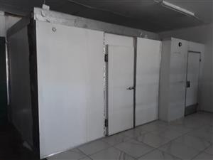 Freezer room and cold room