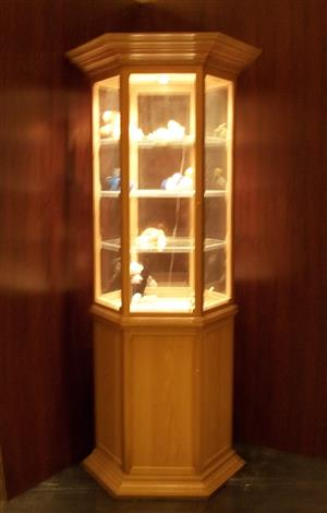 "Custom made Cabinets - ""Display Cabinets for Collectibles, Characters & Ornaments, Unrestricted view. Dust Proof !"