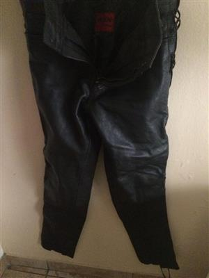 Rox leather pants