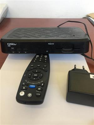 Dstv decoder & remote
